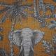 Meubelstof Ella 19130 Zoo - 2003-gold