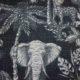 Meubelstof Ella 19130 Zoo - 7015-antracite