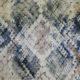 Meubelstof Ella 19116 Wild Snake - 0010-ecru