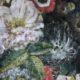 Meubelstof Ice Velvet 20039 Flowerfield - 3011-coral