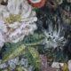 Meubelstof Ice Velvet 20039 Flowerfield - 4010-nocturne