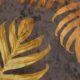 9. Ice Velvet 18087 Jungle Leaves - 8019-chocolate