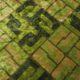 Meubelstof Ice Velvet 20076 Sixties Tiles - 6006-olive