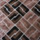 Meubelstof Ice Velvet 20076 Sixties Tiles - 8011-bamboo