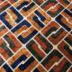 Meubelstof Ice Velvet 20076 Sixties Tiles - 8023-camel