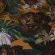 Meubelstof Ella 20071 Flowerleaves - 2854-ocre