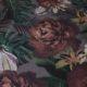 Meubelstof Ella 20071 Flowerleaves - 4003-lila