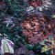 Meubelstof Ice Velvet 20071 Flowerleaves - 4003-lila