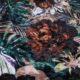 Meubelstof Ice Velvet 20071 Flowerleaves - 4008-old-rose