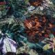 Meubelstof Ice Velvet 20071 Flowerleaves - 6034-acacia
