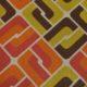 Meubelstof Ella 20076 Sixties Tiles - 3011-coral
