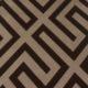 Meubelstof Italian Velvet 20088 Geometric - 8014-brown