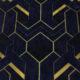Meubelstof Ice Velvet 21022 Art Deco - 5030-royal-blue