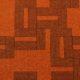 Meubelstof Ella 20013 Labyrinth - 2004-orange