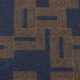 Meubelstof Ella 20013 Labyrinth - 5010-dark-blue