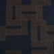 Meubelstof Monroe 20013 Labyrinth - 5010-dark-blue