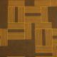 Meubelstof Monroe 20013 Labyrinth - 8026-toffee