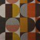 Meubelstof Ella 21109 Blocked Circles - 8008-toast